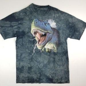 Vintage 2007 Dinosaur T-Rex Large Print T Shirt